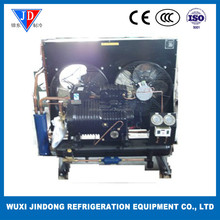 BF series semi-hermetic piston compressor condensing unit air cooled water cooled condensing unit