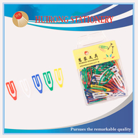 colorful plastic wholesale boat shaped paper clips with high quality