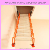 Attic lifts telescopic retractable aluminium household staircase attic stairs loft ladder attic stairs