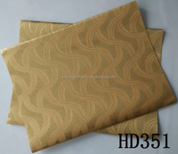 HD351 newest African style common headtie soft material embroidered design on wholesale price