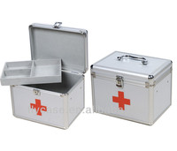 portable travel first aid medical boxes,aluminum first aid kit for car travel tourism