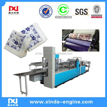 2 colors printing high speed full automatic embossment napkin machine,flexo printing napkin paper folding machine NP7000K