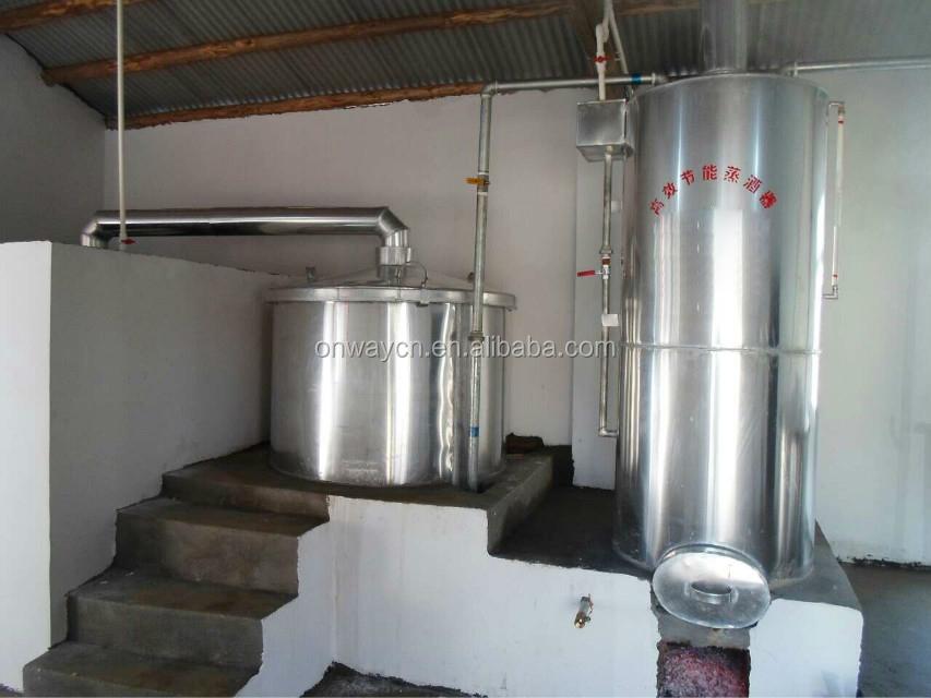 JH High-effective factory price Brandy Whisky Gin Rum Tequila saki wine Vodka distillery for sale