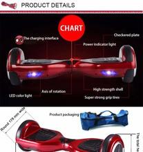 china factory sale Two-wheel Self balancing electric scooter twisting electric skateboard mini balance body feel car