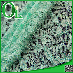 OL supplier 2015 new product African nylon and cotton lace fabric for women's garment