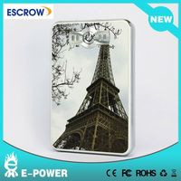 Paris leather portable charger for samsung galaxy s2 i9100