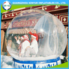 Clear decorating inflatable christmas plastic balls for sale