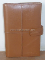 Fancy fashion leather personal organizer Japanese planner notebook
