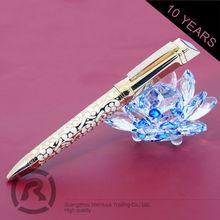 Free Samples Quality Assured Fashion Design Marble Brown Roller Ball Pens