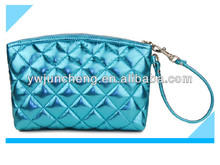 GWP Promotion Quilted Metallic PVC Wristlet Bag