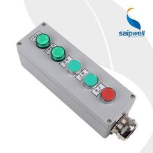Saip IP65 High New Wall Mount Customize electric push button switch box