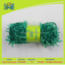 2015 new style fabric fantasy yarn for knitting scarves in China