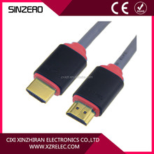 Hdmi cable19 pin gold plated male to male with Ethernet 3D 1080p