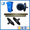 Manufacturer Cheap Good 200mm Rubber Solid Wheel for Dustbin