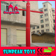 Red Color Advertising Air Dancer Inflatable