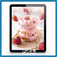 2015 newest model factory direct super slim ABS crystal acrylic frameless photo led light box advertising for shops