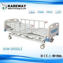china patient bed with aluminum side rail nursing bed