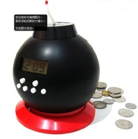 Originality Toys Bomb Alarm Clock with Coin Bank
