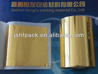 Double side foil imitation gold leaf in rolls