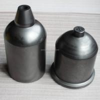 Dia100*165 high purity graphite crucible