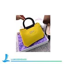 2015 Latest Design Promotional Fashion Lady PU Handbag