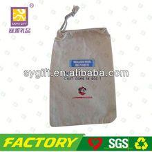 wholesale eco cotton pouch bag