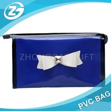 Cute Cosmetic Hand Pouch Bag Clear Plastic PVC Bag