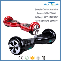 Christmas Gift CE Certification Easy Control Two Wheel Smart Balance Scooter with LED Light
