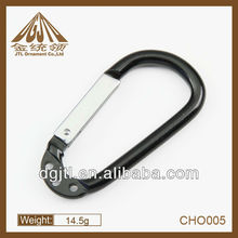 fashion metal new arrival carabiner with hole