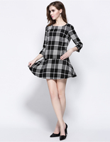 stripe ladies formal skirt suit dress for women,embroidery knitting business women pictures of design skirt suit