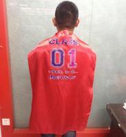 70x110cm super hero cape school cape CLASS SERIES welcome custom design ,whole area printing is no problem