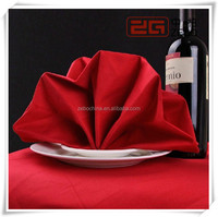 Recycle Use Spun Polyester Hotel Table Napkin Wholesale