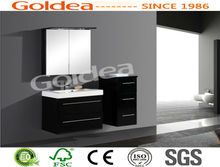 MDF Wall Mounted Modern Bathroom Vanity Storage