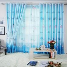 Finished Curtain Cheap Korean Fabrics Kitten Wholesale