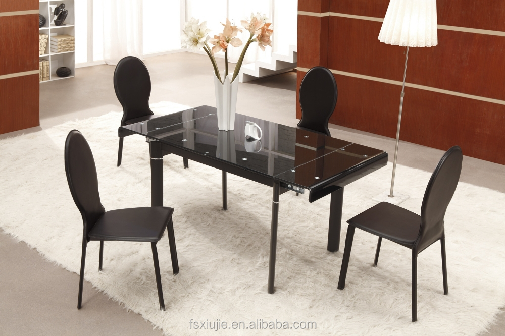 l808d 3 full black dining room sets 1 6 extend dining