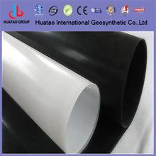 white colour virgin material HDPE geomembrane / pvc pool liner material