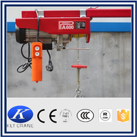 220v mini electric elevator wire rope electric hoist 5ton