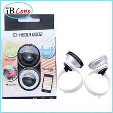 Universal 3 In 1 Clip On Camera Lens for cell phone