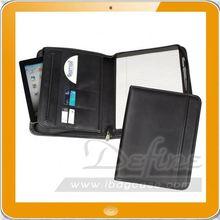 man leather portfolio folder for CD/business card/ipad
