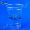 zhejiang hot sell custom plastic cups PET 14 oz disposable
