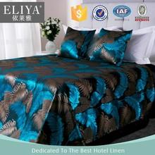 ELIYA modern 5 star hotel bed linen sheet sets/silk fabric bed sheets