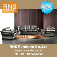 RNS Classic 1+2+3 Leather Sofa 6007