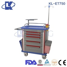medical trolley ABS abs surgical instrument nursing trolley top grade medical trolley carts
