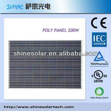 200W Poly Crystal Solar Panel/Solar Power System