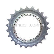 undercarriage parts original brand name rims/drive sprocket forging wheel