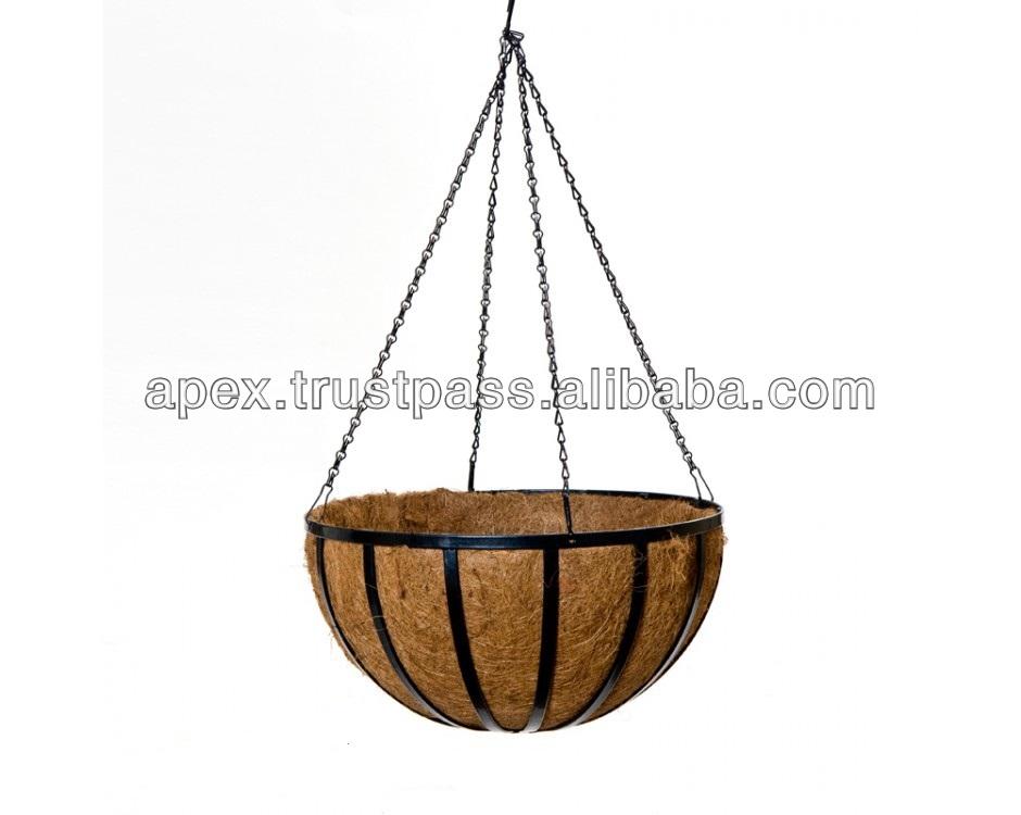 Hanging Flower Baskets Supplier : Hanging artificial flower baskets buy basket