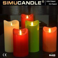 flameless led candle walmart 3 d with timer and remote, USA patent below wedding party