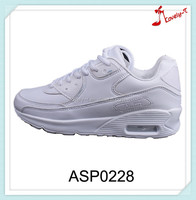 new arrival ladies women comfortable breathable high heel and high ankle lace up pu and suede air running athletic sport shoes