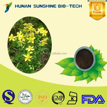 St.John's wort Extract 0.3% Hypericin Nutrition Supplement For Prevention Depression