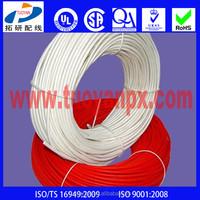 silicone coated fiberglass braided insulation sleeve/tube